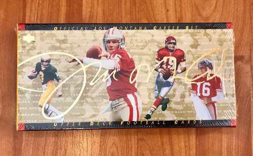 Set Cerrado De Joe Montana De 45 Tarjetas Nfl 49ers Chiefs