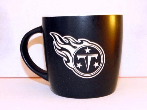 Tennessee Titans Taza Negra Coleccionable Nfl