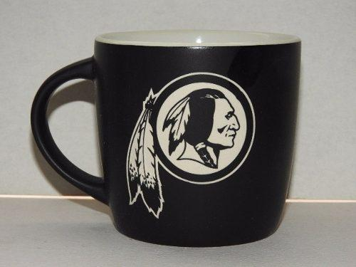 Washington Redskins Taza Negra Coleccionable Nfl