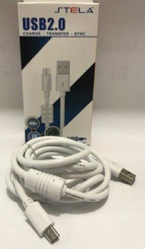 20 Cables Usb V8 Carga Rapida Uso Rudo Android Stela Fltro