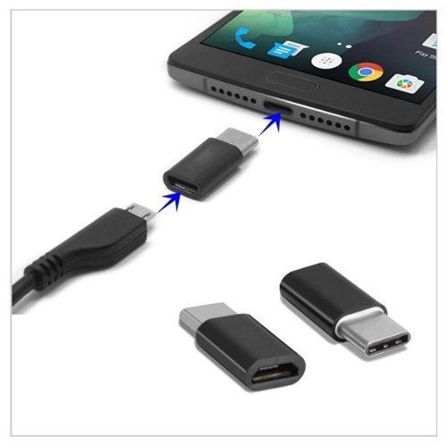 Adaptador Usb Tipo C A Micro Usb Hembra Otg Smartphone