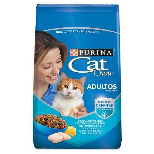 Alimento Para Gato Cat Chow Delrel Pescado Y Mariscos 20 Kg