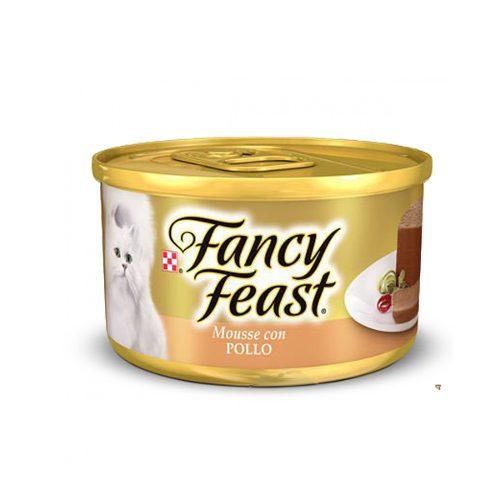 Alimento Para Gato Fancy Feast Mousse Con Pollo 85 G