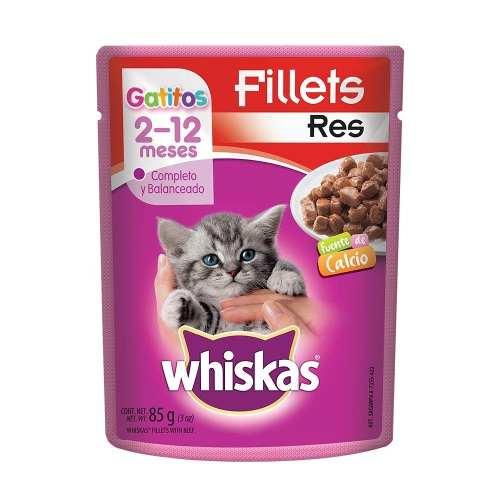Alimento Para Gato Whiskas Res Gatito 85 Gr
