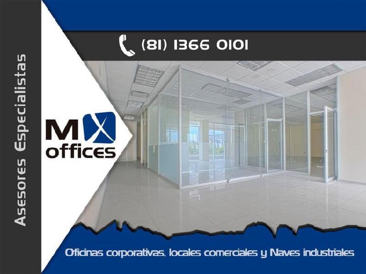 Amplia oficina en renta de 245m2 en PB edificio zona San