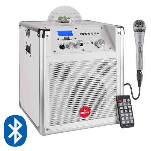 Amplificador Bluetooth Portátil 125w Esfera De