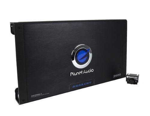 Amplificador De Audio Con Control 2600 Watts 2 Canales Boss