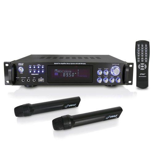 Amplificador De Potencia De Audio Para El Hogar Pyle De...