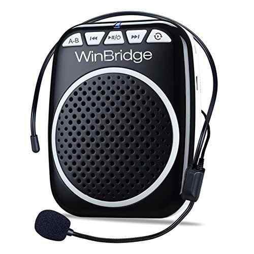 Amplificador De Voz Portátil Ultraligero Recargable Winbrid