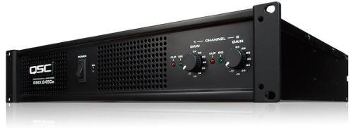 Amplificador Rmx2450a Power Qsc 2 Canales 2400w Nuevo