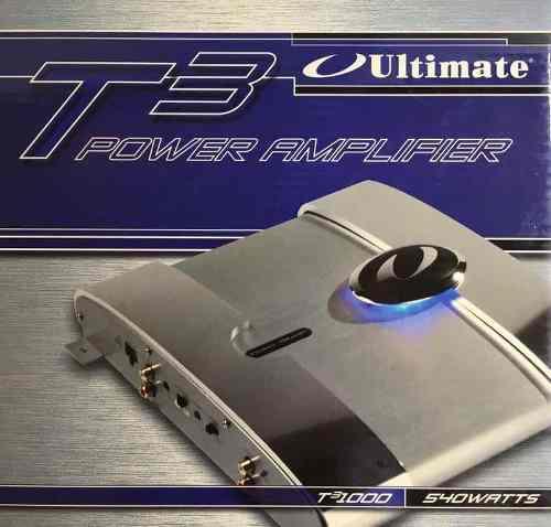 Amplificador Ultímate T31000 / 1500 Watts 2 Canales
