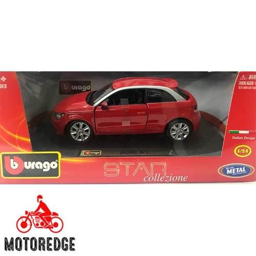 Audi A1 Rojo Burago 1/24 Nuevo Envío Inmediato