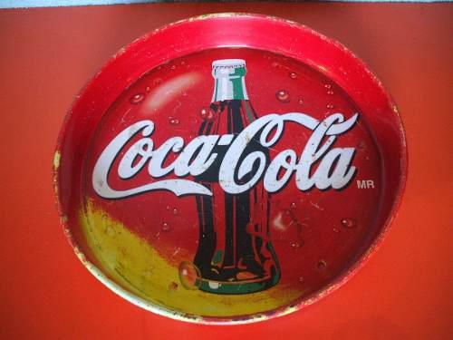 Bonita Charola Coca Cola Vintage De Colección De Los 80s