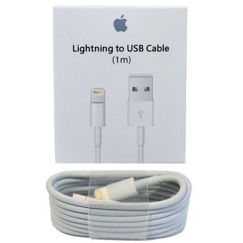 Cable Cargador Lightning Para Iphone 6, 7, 8 X Original 100%