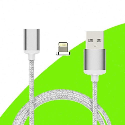 Cable Cargador Magnetico Lightning Usb Apple Iphone Ipad