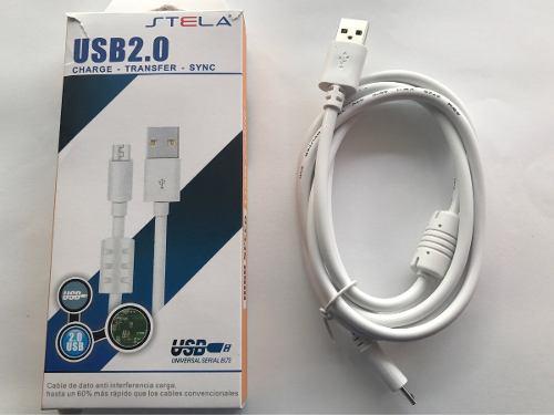 Cable Datos Micro Usb V8 Samsung Lg Sony Carga Rápida