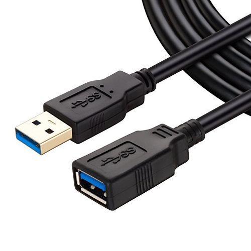 Cable Extensión Usb 3.0 Macho A A Hembra 2 Metros 4.8 G/s