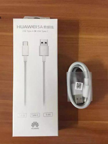 Cable Huawei Tipo C Super Carga 5a Original 1m