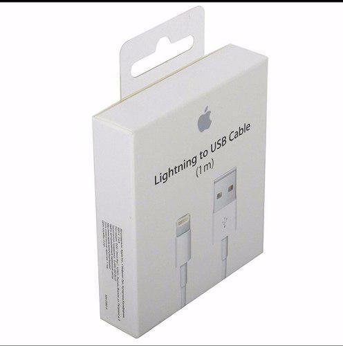Cable Iphone 5/6/7/8 Ipad Ipod 100% Original Envio Gratis