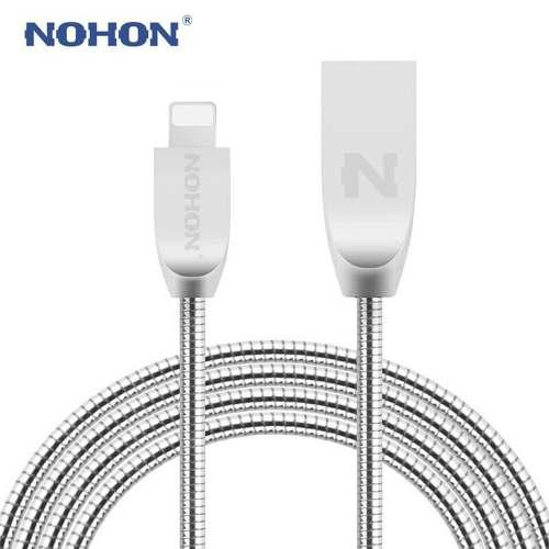 Cable Iphone Ipad Carga Rápida Usb De Metal Envío
