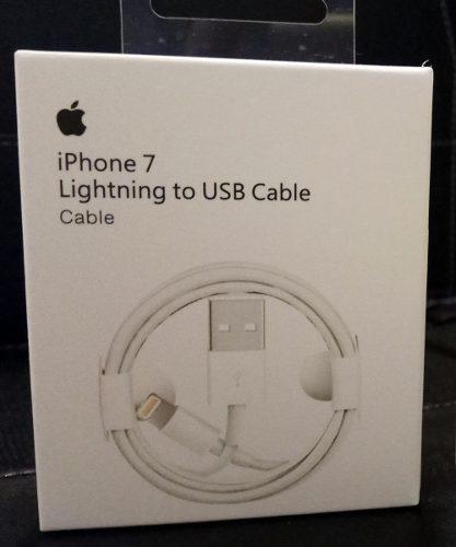 Cable Iphone Lightning 100% Original 5 6 7 8 X Ipad Ipod