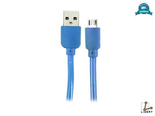Cable Micro Usb Celular V8 Carga Datos 3 Metros Cab-3m