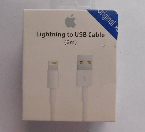 Cable Original Iphone 5,6,7,8, Plus, Iphone X 2 Metros