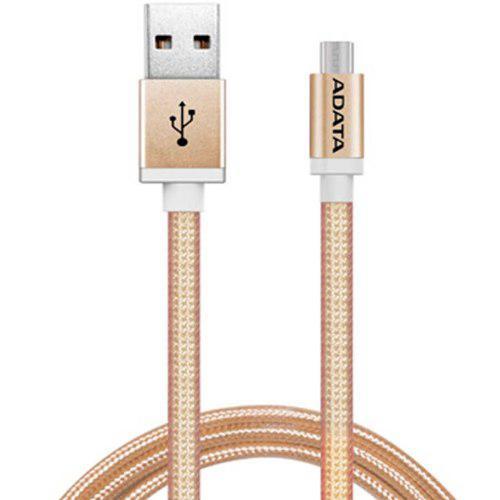 Cable Usb A Micro Usb Smartphone Adata Amucal-100cmk-cgd 1mt
