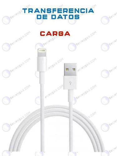 Cable Usb Para Iphone 5 6 7 8 Y Plus Carga Transfiere Datos