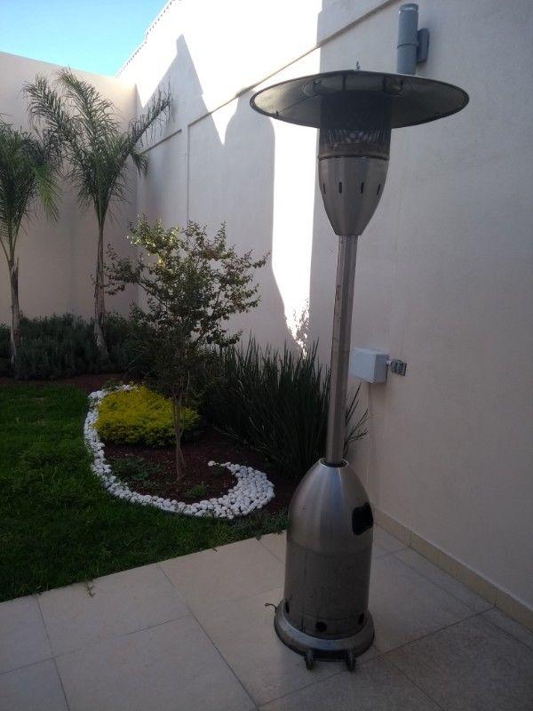 Calentador de gas para patio
