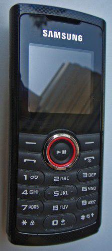 Celular Samsung Gt-e2121l Negro / Rojo Telcel (nuevo)