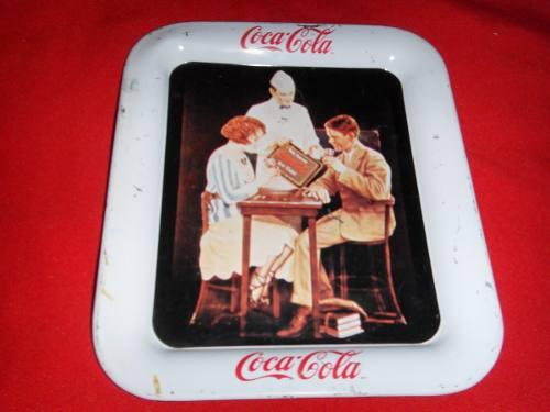Charola Coca Cola Antigua De Colección Envio Gratis
