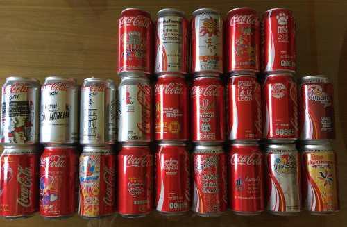 Coleccion 23 Latas Coca Cola Ferias/festivales Ltd Edition