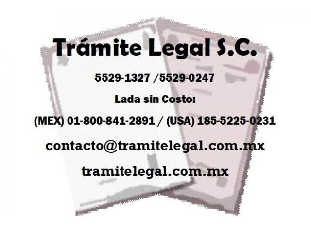 Constancia de Solteria de la Ciudad de Mexico CDMX