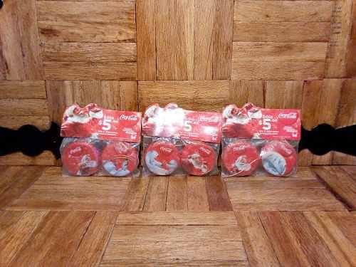 Corcholatas Navideñas Coca Cola