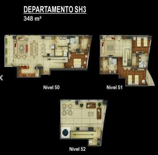 Departamento de Lujo en Venta en Valle Oriente 27-DV-2540 /