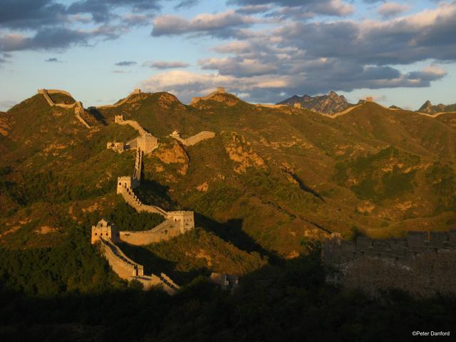 Dormir en la Gran Muralla China.