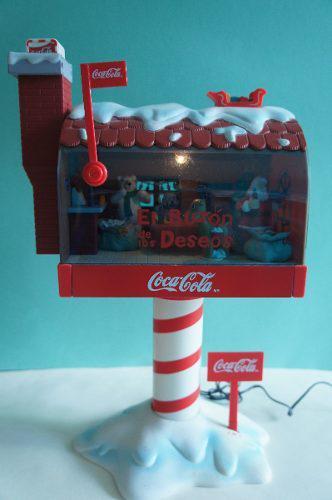 El Buzón De Los Deseos Coca Cola De Colección Envió