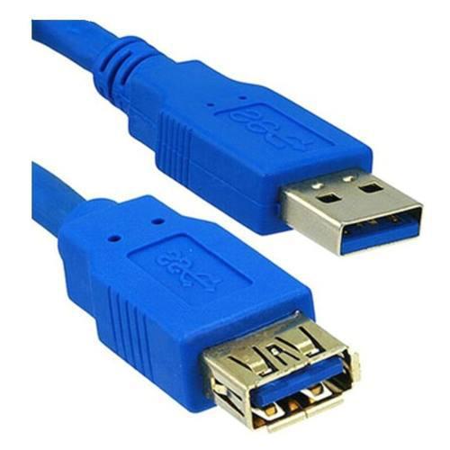 Extensión Cable Usb 3.0 Macho Hembra 3 Metros 5gbps