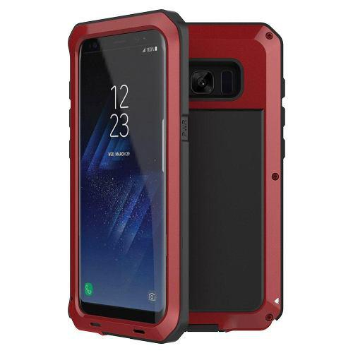 For Samsung Galaxy S8 - Red - A Prueba De Golpes De Gom-8615