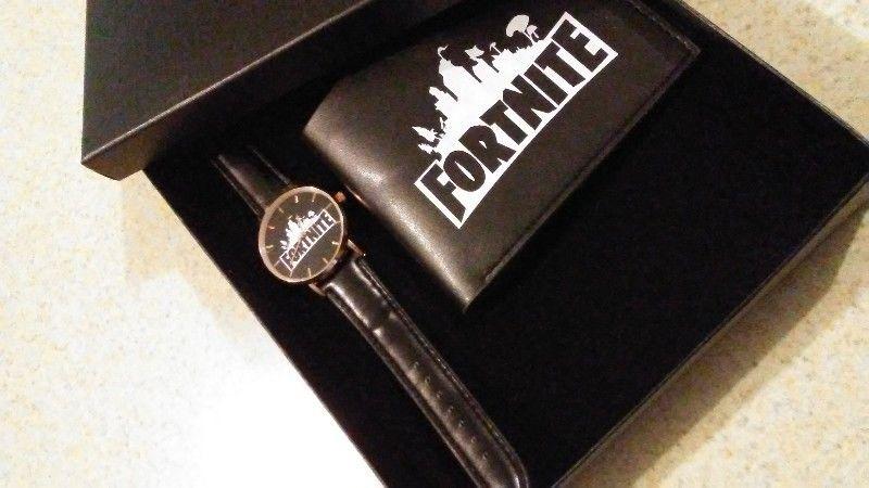 Fortnite Reloj y Billetera Caja Accesorios