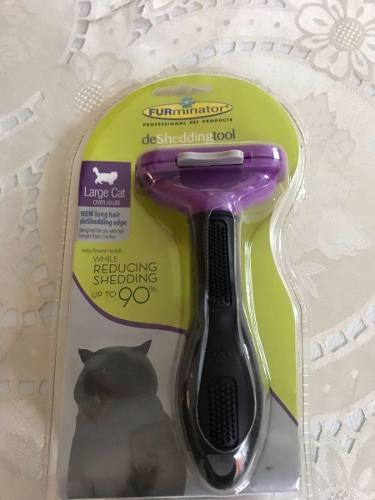 Furminator Cepillo Para Gatos Pelo Largo Original