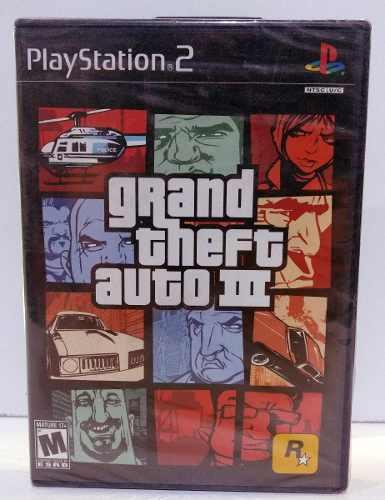 Grand Theft Auto Iii Play Station 2 Ps2 Nuevo Retromex Tcvg