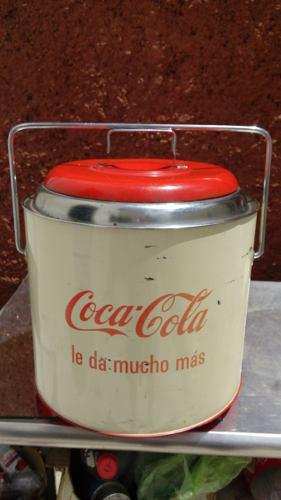Hielera Coca Cola De Coleccion Muy Rara