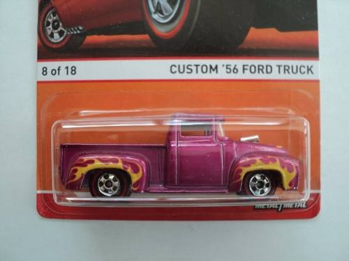 Hot Wheels Heritage Red Line  Ford Truck 56