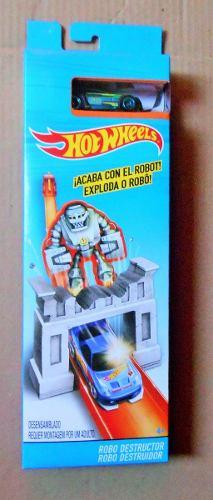 Hot Wheels Set De Pista Robot Destructor