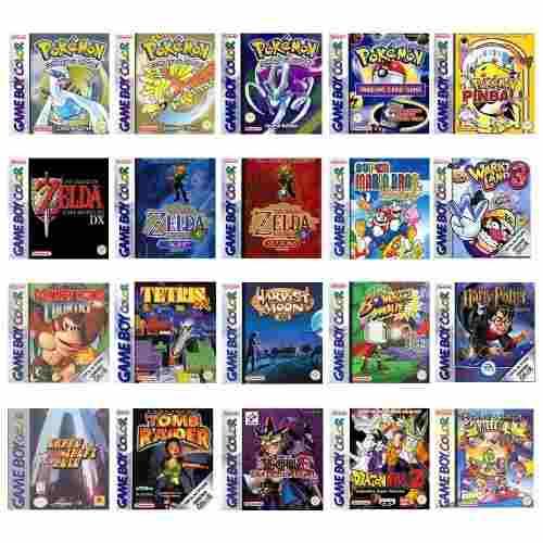 Juegos Game Boy Color Todos Para Pc Y Android + Pilones
