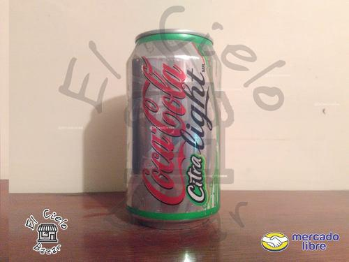 Lata Coca Cola Citra Light 2010 Llena
