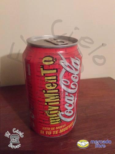 Lata Movimiento Coca Cola De España Del Año 2001 Llena