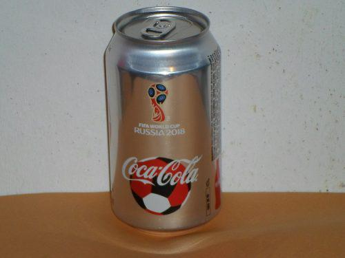 Lata Mundial Rusia 2018 Coca Cola Light